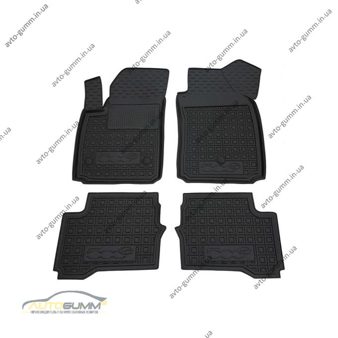 Автомобільні килимки в салон Fiat 500e (electric) (Avto-Gumm)