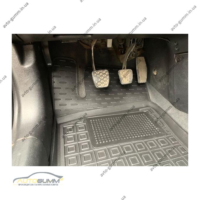 Водительский коврик в салон Opel Vectra B 1996-2002 (Avto-Gumm)