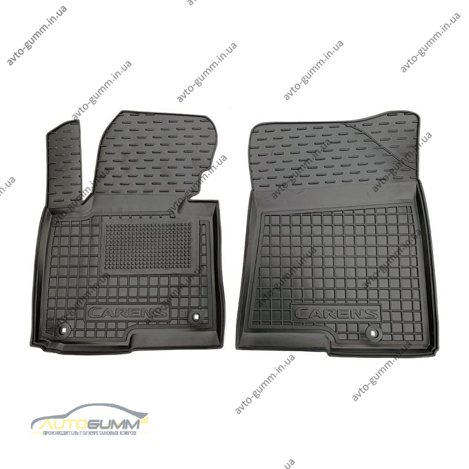 Передние коврики в автомобиль Kia Carens 2013- (Avto-Gumm)