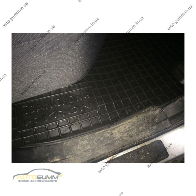Автомобільні килимки в салон Ssang Yong Kyron 2005- (Avto-Gumm)