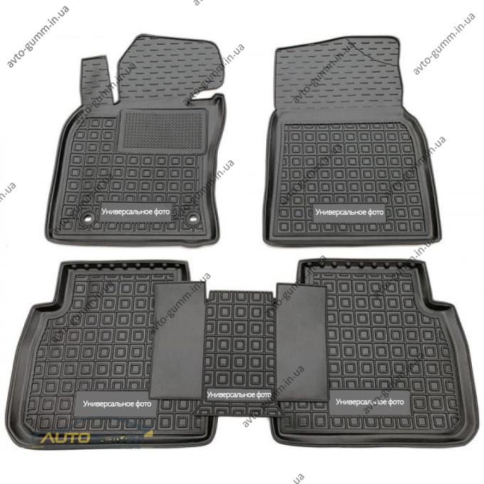 Автомобильные коврики в салон Chery Jetour X70 2020- 5 мест (AVTO-Gumm)