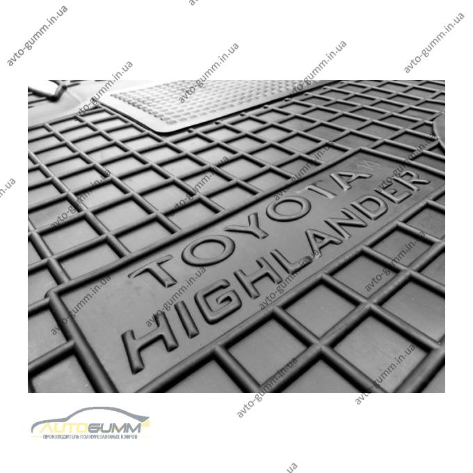 Водительский коврик в салон Toyota Highlander 2014- (Avto-Gumm)
