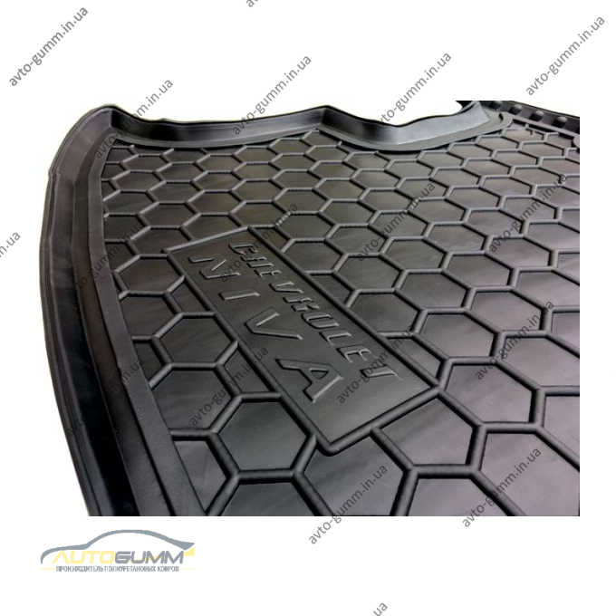 Автомобильный коврик в багажник Chevrolet Niva 2123 2002- (Avto-Gumm)