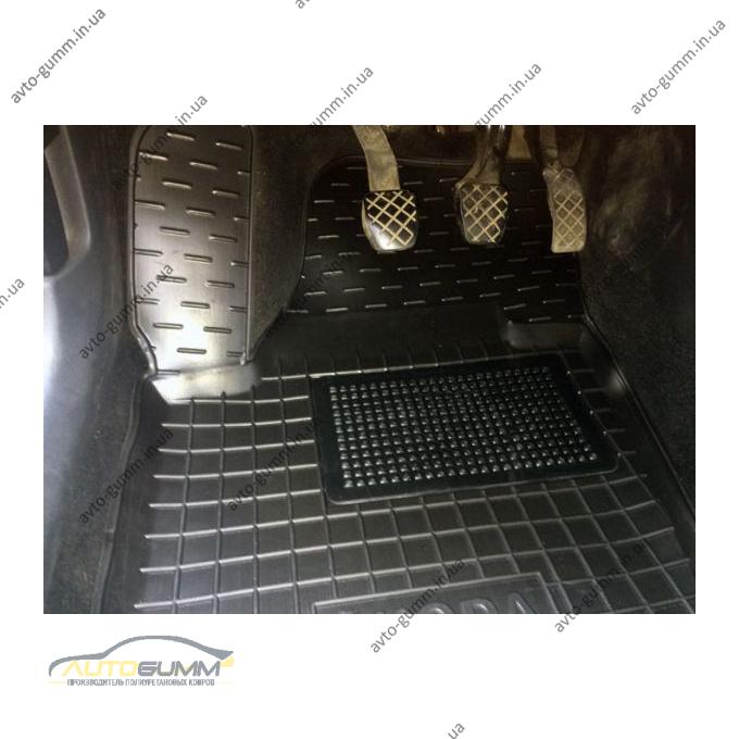 Водительский коврик в салон Skoda Rapid 2013- (Avto-Gumm)