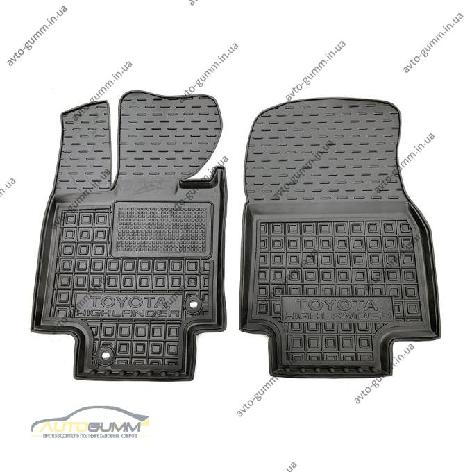 Передние коврики в автомобиль Toyota Highlander 4 2020- (AVTO-Gumm)