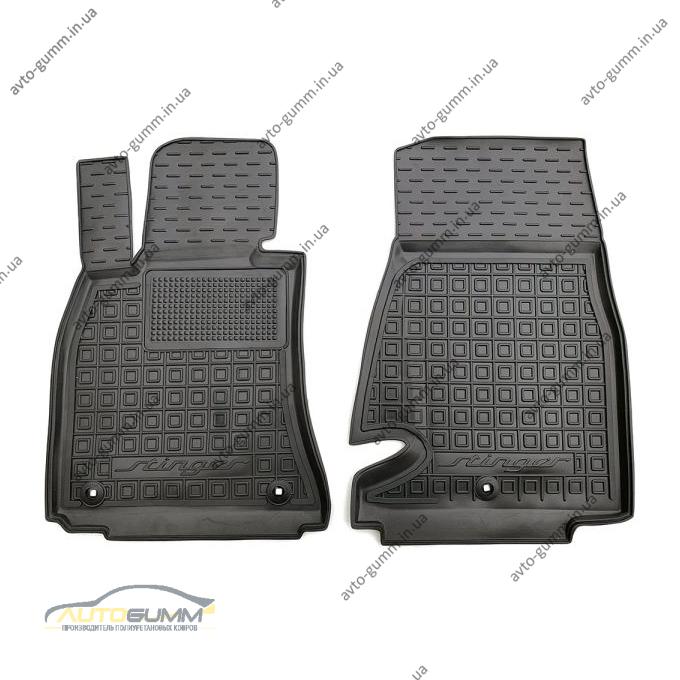 Передние коврики в автомобиль Kia Stinger 2017- (Avto-Gumm)