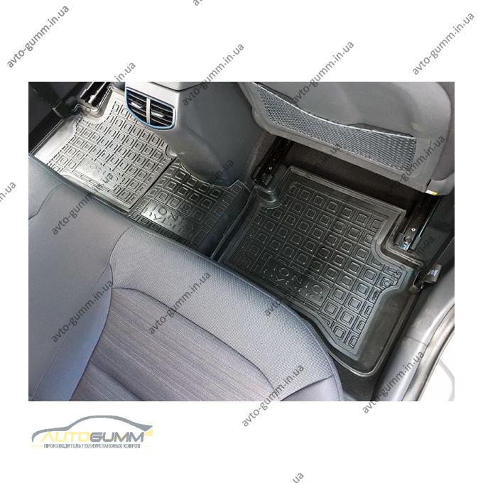 Автомобильные коврики в салон Hyundai IONIQ hybrid 2017- (Avto-Gumm)