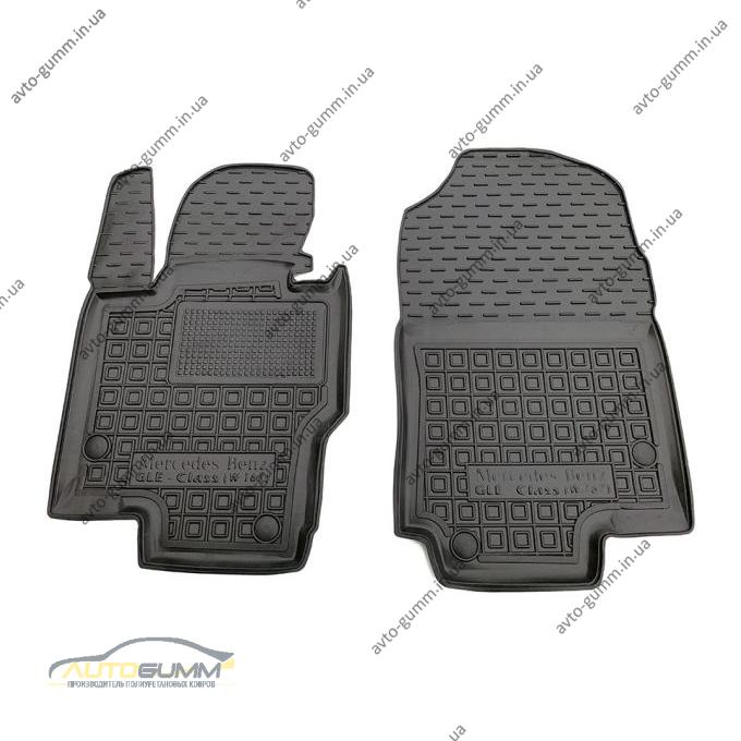 Передние коврики в автомобиль Mercedes GLE (W167) 2019- (Avto-Gumm)