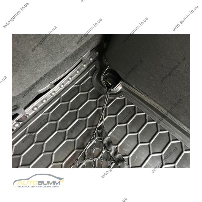 Автомобильный коврик в багажник Volkswagen Caddy 2004- Life (Avto-Gumm)