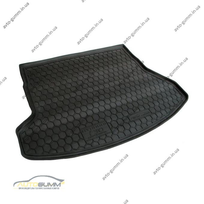 Автомобильный коврик в багажник Hyundai i30 2012- SW (Avto-Gumm)