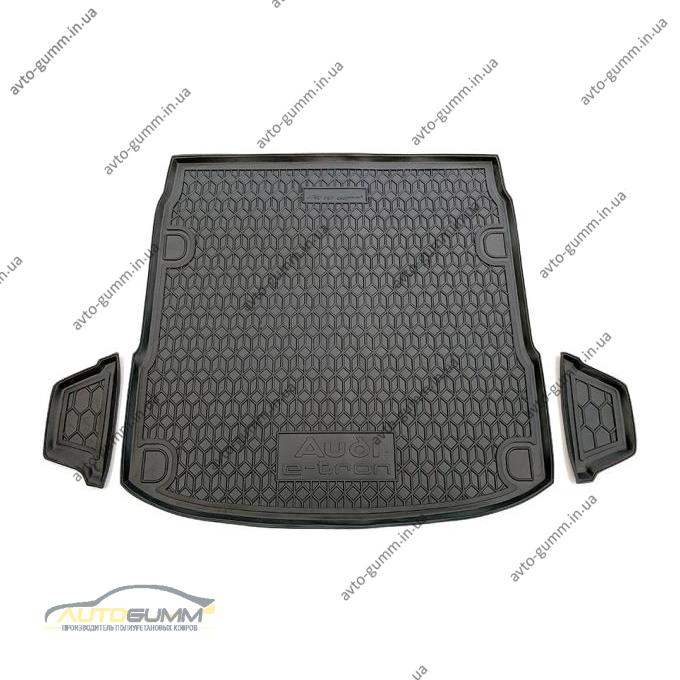 Автомобильный коврик в багажник Audi E-Tron 2020- (Avto-Gumm)