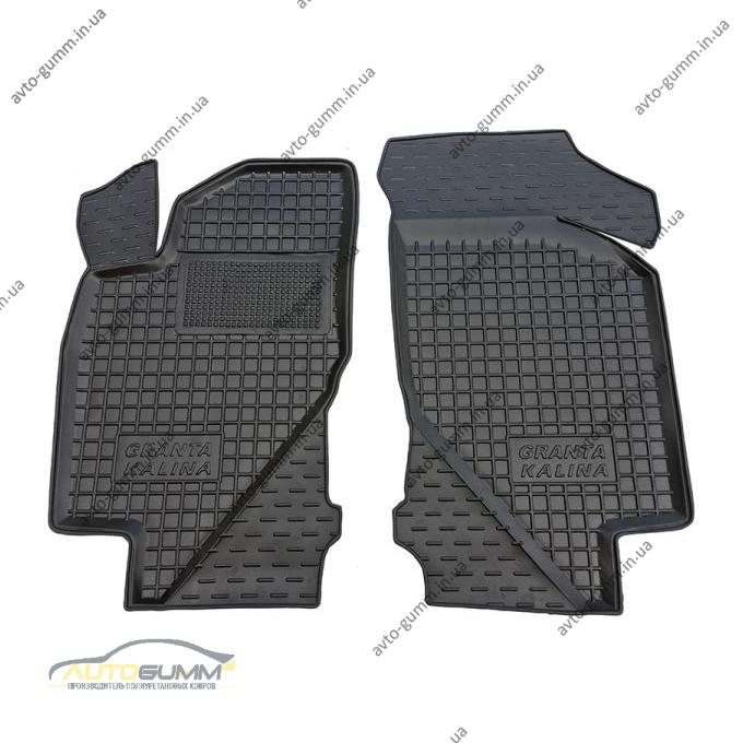 Передние коврики в автомобиль ВАЗ Lada Kalina 04-/Granta 11- (Avto-Gumm)
