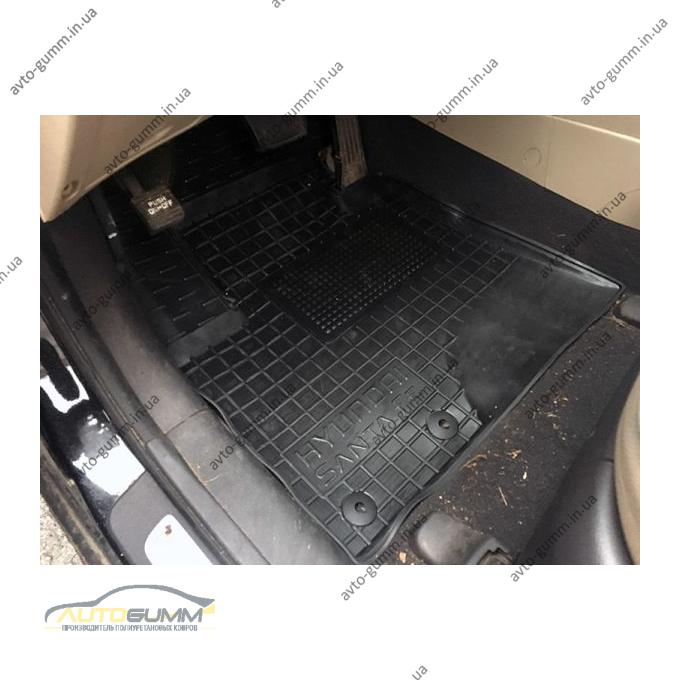 Передние коврики в автомобиль Hyundai Santa Fe 2010-2012 (Avto-Gumm)