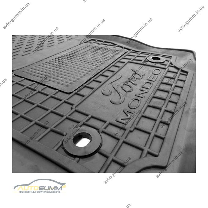 Водительский коврик в салон Ford Mondeo 2007-2014 (Avto-Gumm)