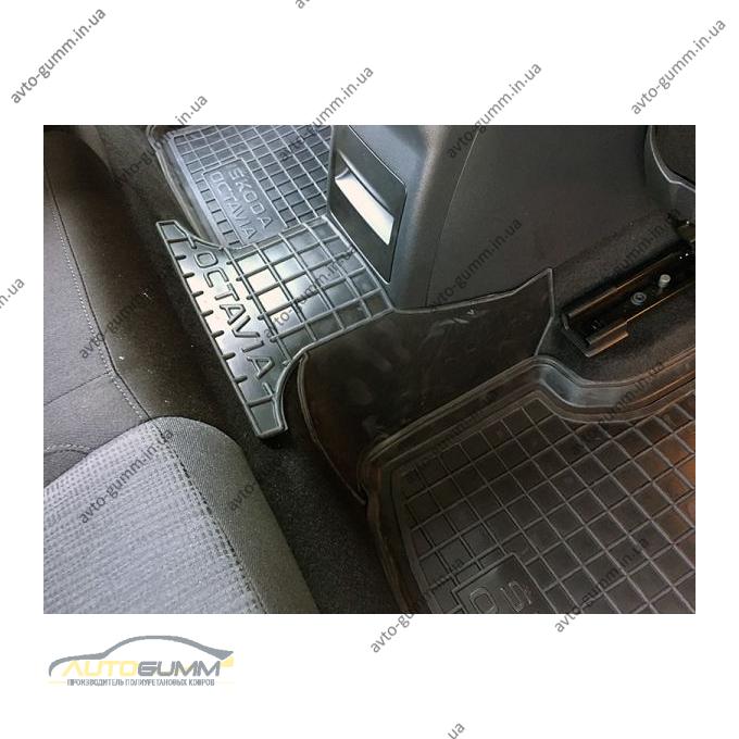 Автомобильные коврики в салон Skoda Octavia A7 2013- (Avto-Gumm)