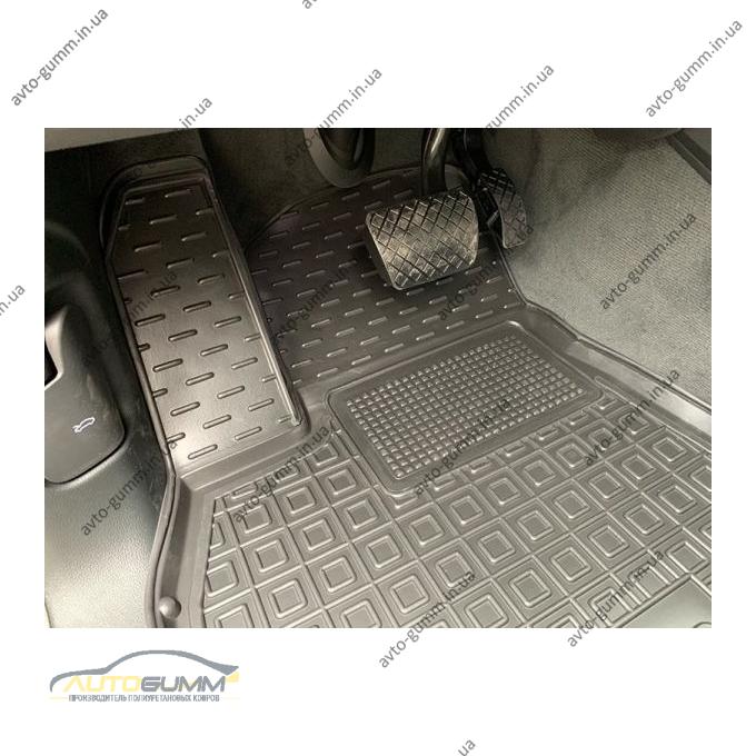Передние коврики в автомобиль Audi Q8 2018- (Avto-Gumm)