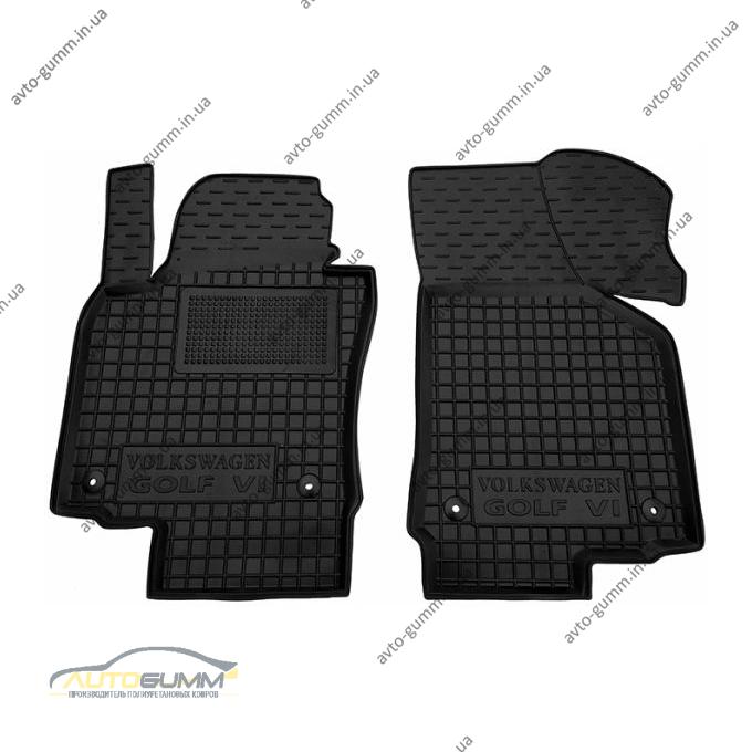 Передние коврики в автомобиль Volkswagen Golf 5 03-/6 09- (Avto-Gumm)