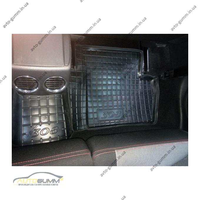 Автомобильные коврики в салон Peugeot 308 2008- (Avto-Gumm)