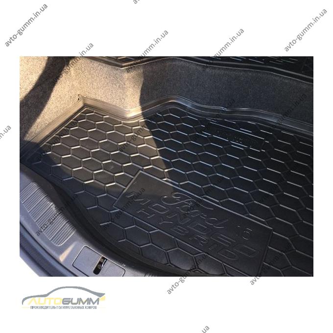 Автомобильный коврик в багажник Ford Mondeo 5/Fusion 2015- hybrid (Avto-Gumm)