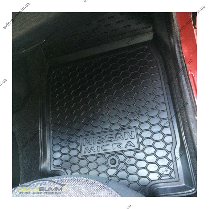 Автомобильные коврики в салон Nissan Micra (K12) 2002- (Avto-Gumm)