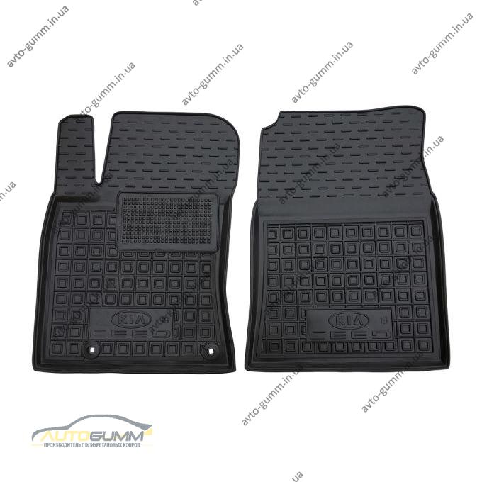 Передние коврики в автомобиль Kia Ceed 2019- (Avto-Gumm)