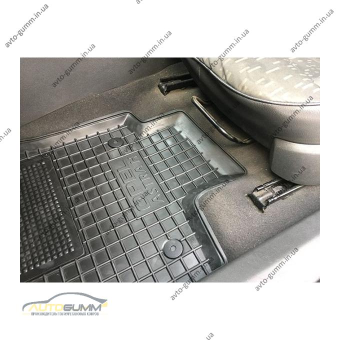 Автомобильные коврики в салон Opel Astra H 2004- Hb/Un (Avto-Gumm)
