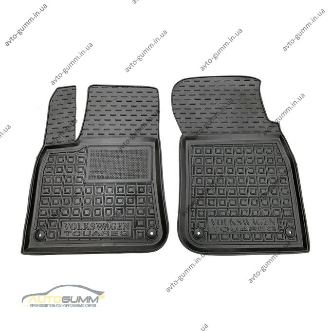 Передние коврики в автомобиль Volkswagen Touareg 2018- (Avto-Gumm)