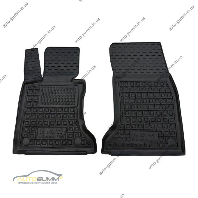 Передние коврики в автомобиль BMW 5 (E60) 2003-2010 (Avto-Gumm)