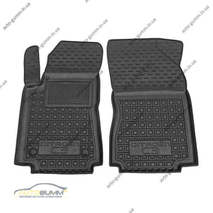 Передние коврики в автомобиль Citroen C3 2017- (Avto-Gumm)