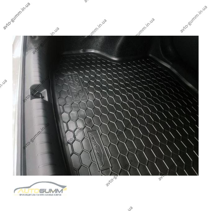 Автомобильный коврик в багажник Honda Civic Sedan 2017- (Avto-Gumm)