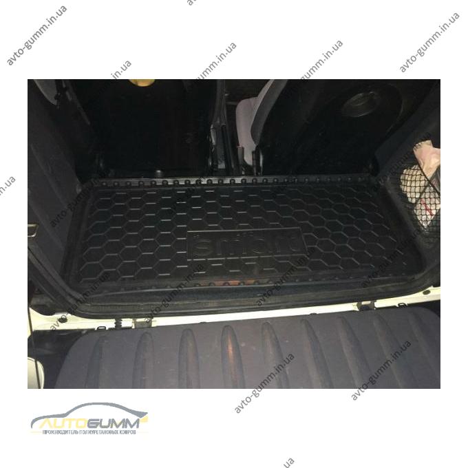 Автомобильный коврик в багажник Smart Fortwo 450 1998-2006 (Avto-Gumm)