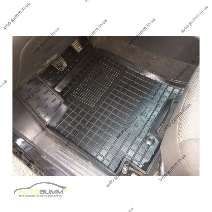 Водительский коврик в салон Chevrolet Aveo 2003-2012 (Avto-Gumm)