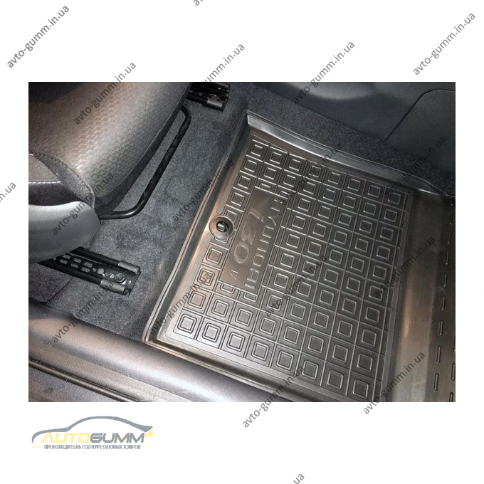 Автомобильные коврики в салон Hyundai i30 2017- (Avto-Gumm)