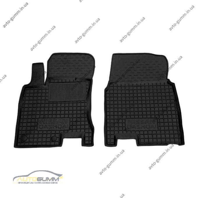 Передние коврики в автомобиль Nissan Qashqai 2007- (Avto-Gumm)