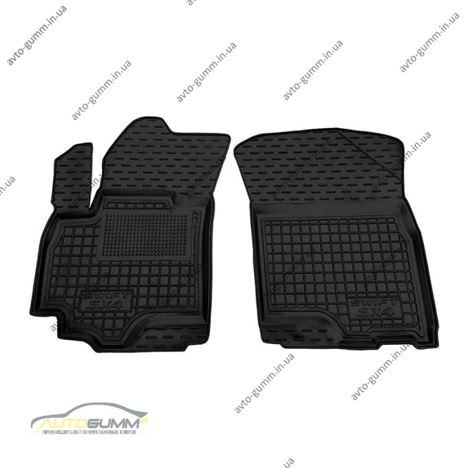 Передние коврики в автомобиль Suzuki SX4/Swift 2006- (Avto-Gumm)