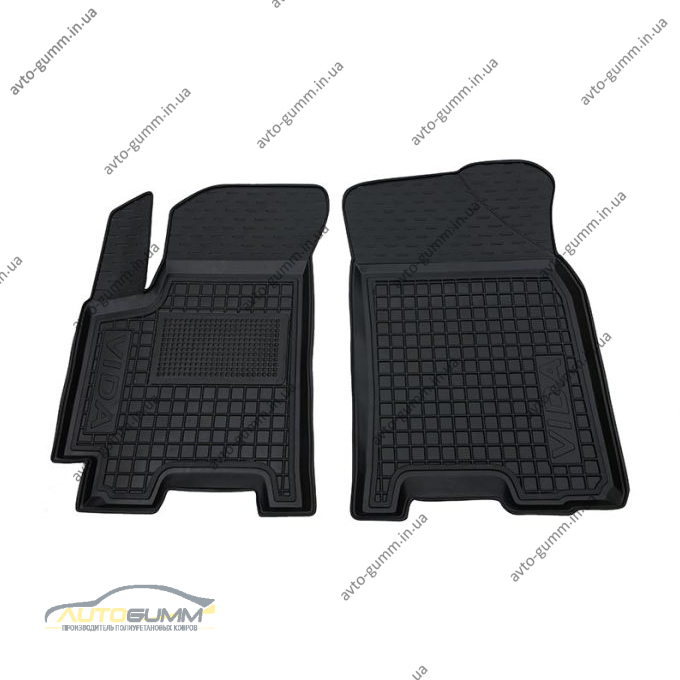 Передние коврики в автомобиль ЗАЗ Vida 2012- (Avto-Gumm)