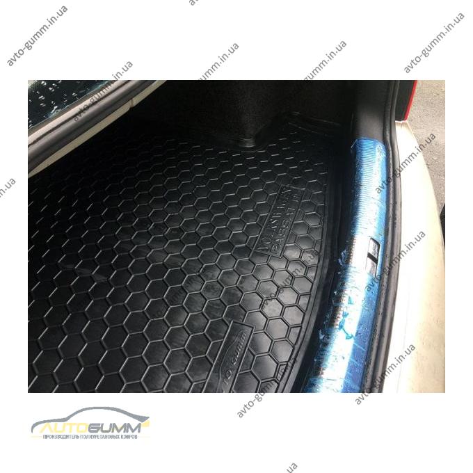 Автомобильный коврик в багажник Volkswagen Passat B5 1996- (Sedan) (Avto-Gumm)