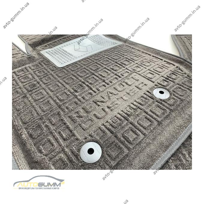 Гибридные коврики в салон Renault Duster 2018- (AVTO-Gumm)