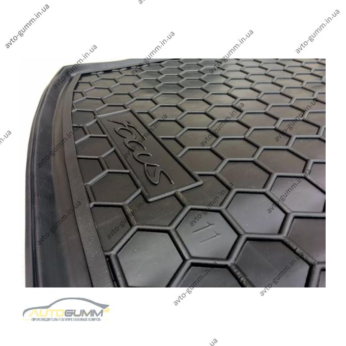 Автомобильный коврик в багажник Ford Focus 3 2011- Universal (Avto-Gumm)
