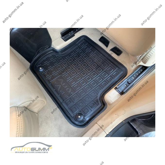 Автомобильные коврики в салон Audi A4 (B6/B7) 2001-2007 (Avto-Gumm)