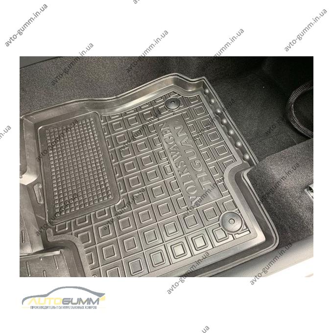 Водительский коврик в салон Volkswagen Tiguan 2016- (Avto-Gumm)