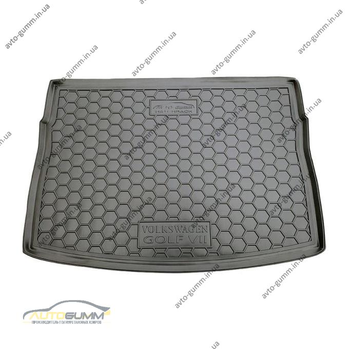 Автомобильный коврик в багажник Volkswagen Golf 7 2013- Hatchback (Avto-Gumm)