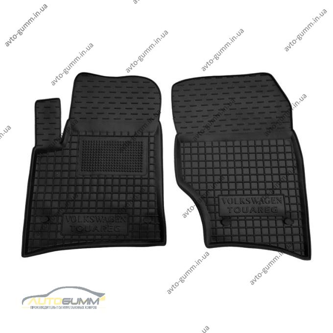 Передние коврики в автомобиль Volkswagen Touareg 2002-2010 (Avto-Gumm)