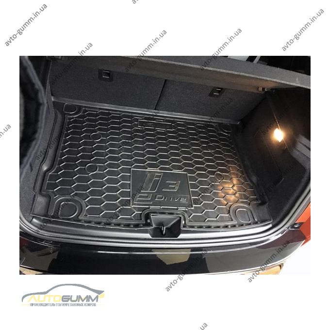 Автомобильный коврик в багажник BMW i3 2013- (Avto-Gumm)