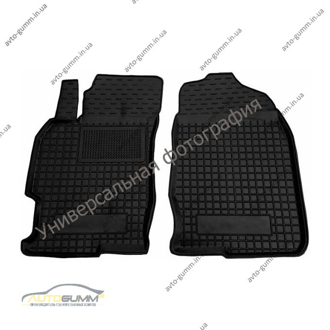 Передние коврики в автомобиль Mercedes ML (W166) 11-/GLE 14- (Avto-Gumm)