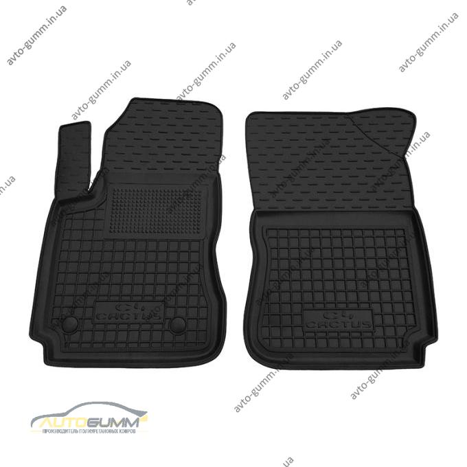 Передние коврики в автомобиль Citroen C4 Cactus 2015- (Avto-Gumm)