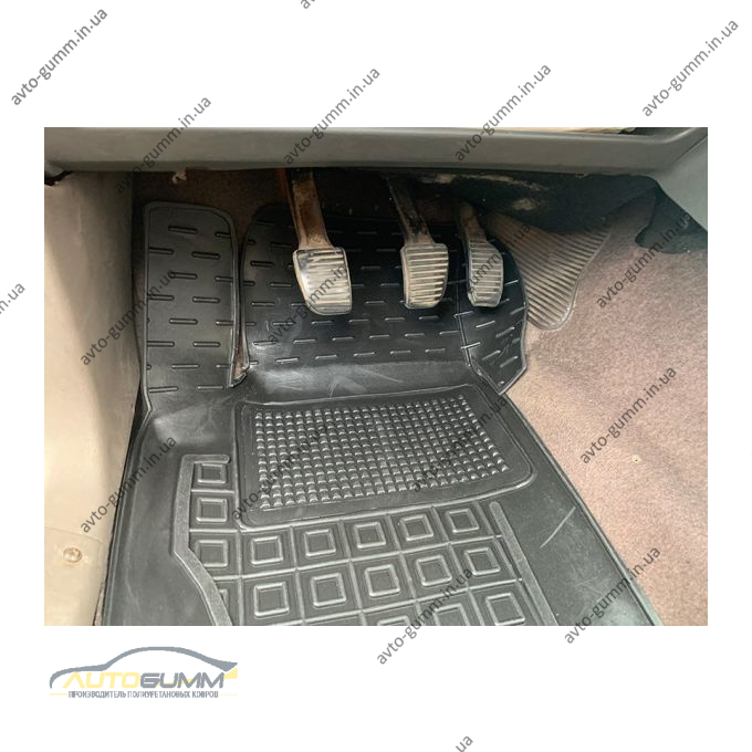 Водительский коврик в салон Ford Sierra 1987-1994 (Avto-Gumm)