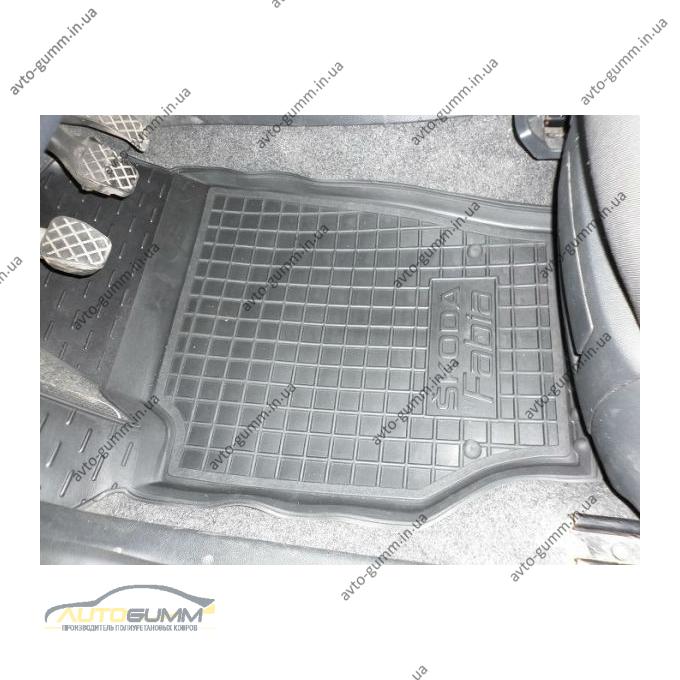 Автомобильные коврики в салон Skoda Fabia 2 2007-2015 (Avto-Gumm)
