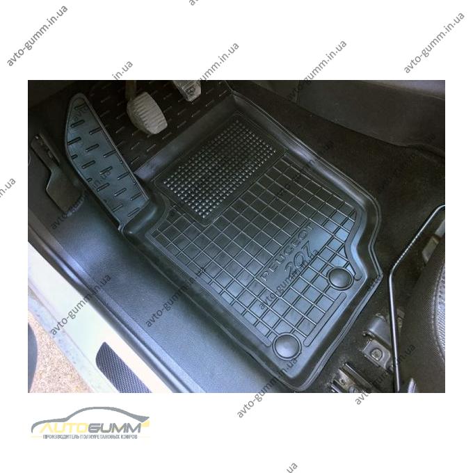 Автомобильные коврики в салон Peugeot 207 2006-2012 (Avto-Gumm)