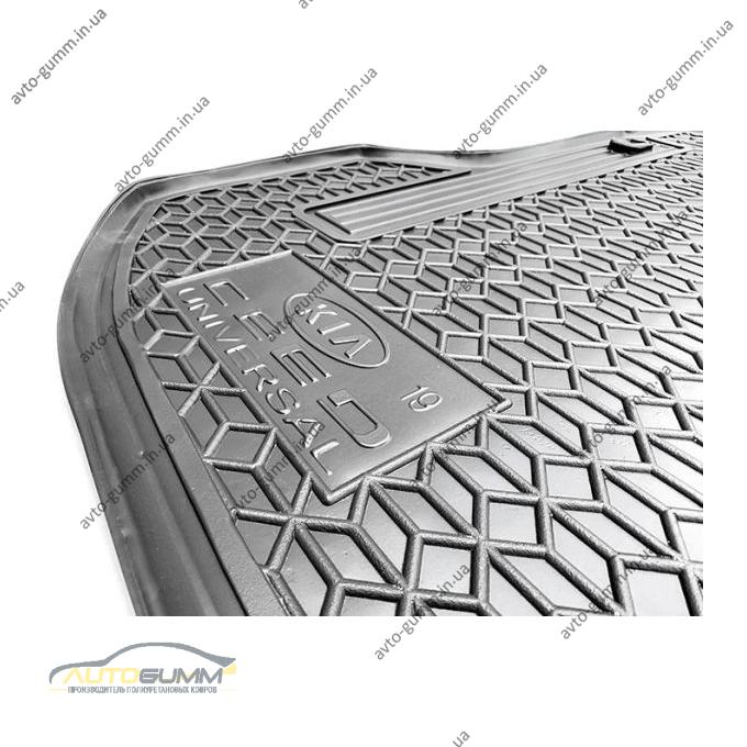 Автомобильный коврик в багажник Kia Ceed 2019- Universal верхняя полка (Avto-Gumm)